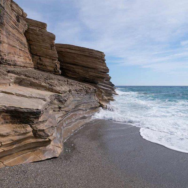 Triopetra beach rocks